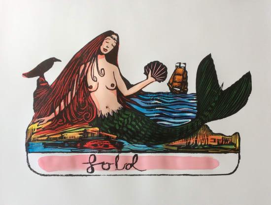 Andrew Mockett, The Siren's Lament, 2018