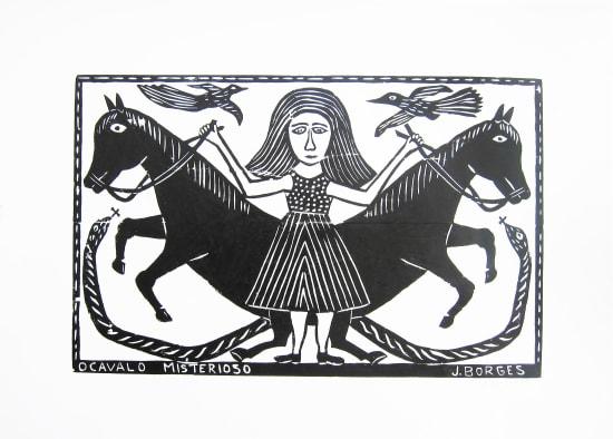 José Borges, O Cavalo Misterioso - The Mysterious Horse , 1999