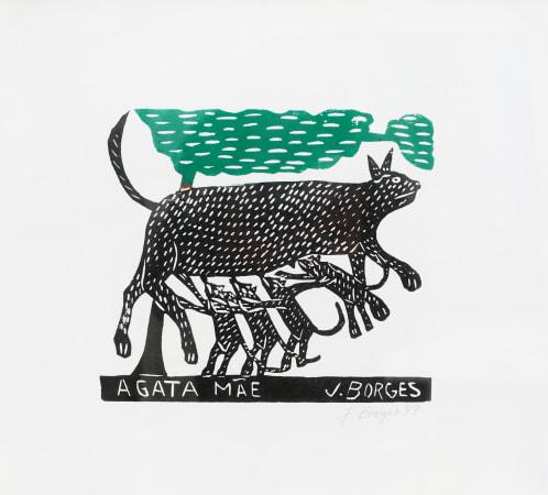 José Borges, A Gata Máe - The Mother Cat, 1999