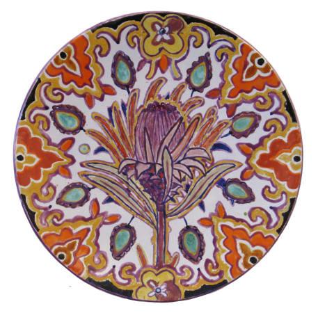 Fons van Laar, Plate Flower 3, 2020