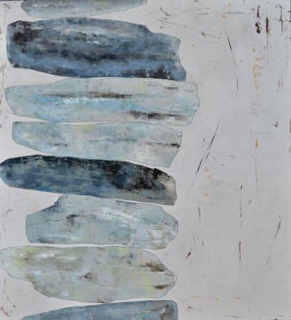 Richard Nott, Blue stack, 2020