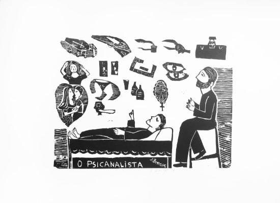 José Borges, O Psicanalista - The Psychoanalyst, 1999