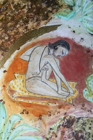 Katherine Virgils, Yogi Miniature No. 49, 2016