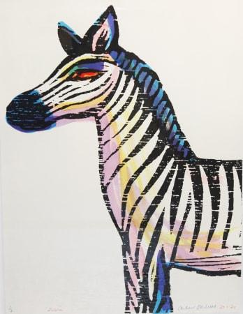Andrew Mockett, Zebra, 2020