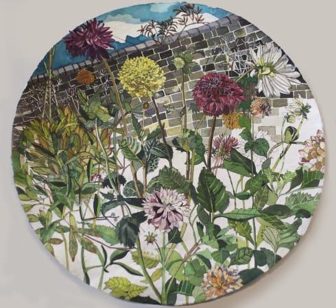 Sophie Charalambous, Dhalia Garden, 2020