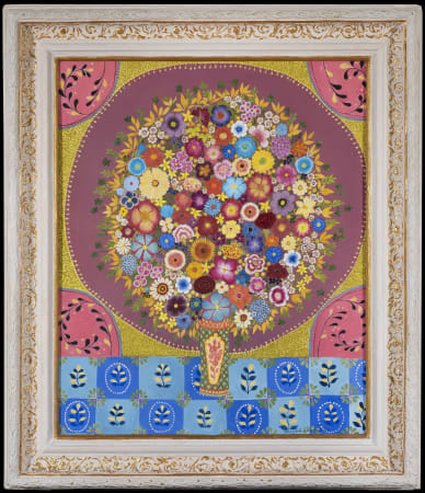 Hepzibah Swinford, Flowers in a Circle , 2020
