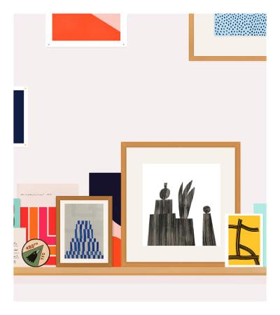 Rose Blake, My Shelf (With Museum Journal), 2017