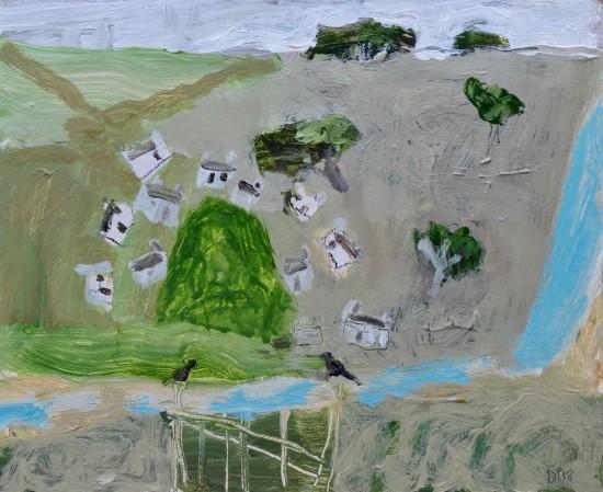 "<span class=""artist""><strong>David Pearce</strong></span>, <span class=""title""><em>From the Garden Gate</em></span>"