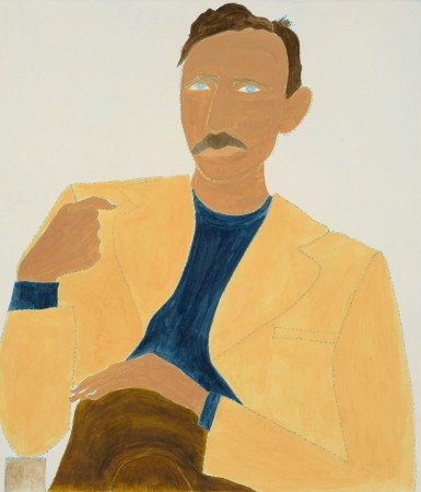 """<span class=""""artist""""><strong>Kate Boxer</strong></span>, <span class=""""title""""><em>John Steinbeck (Unframed)</em></span>"""