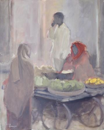 "<span class=""artist""><strong>Clare Granger</strong></span>, <span class=""title""><em>The Fruit Seller</em></span>"