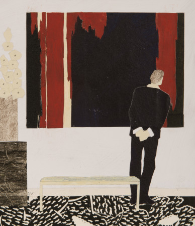 "<span class=""artist""><strong>Dione Verulam</strong></span>, <span class=""title""><em>That is Strong, Clyfford Still </em></span>"