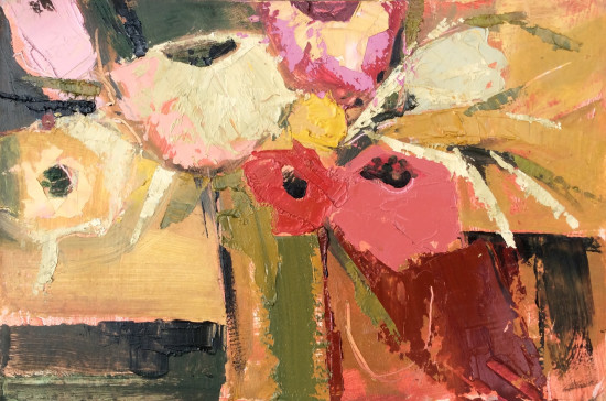 <span class=&#34;artist&#34;><strong>Emma Haggas</strong></span>, <span class=&#34;title&#34;><em>Flowers in a Green Vase</em></span>