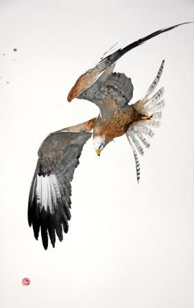 "<span class=""artist""><strong>Karl Martens</strong></span>, <span class=""title""><em>Red Kite Flying I (Unframed)</em></span>"