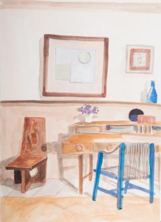 "<span class=""artist""><strong>Lottie Cole</strong></span>, <span class=""title""><em>Interior with Ben Nicholson</em></span>"