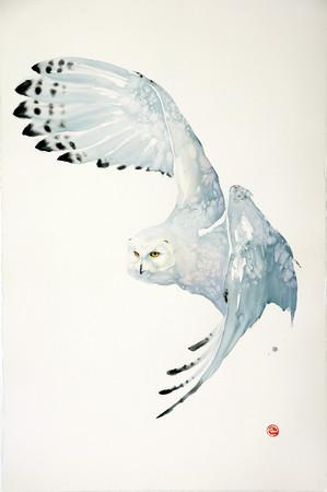 "<span class=""artist""><strong>Karl Martens</strong></span>, <span class=""title""><em>Snowy Owl</em></span>"