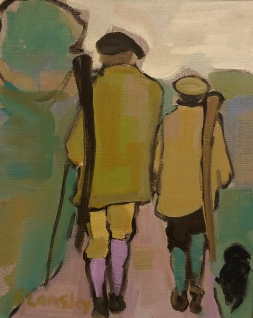 "<span class=""artist""><strong>Bridget Lansley</strong></span>, <span class=""title""><em>Father and Son</em></span>"