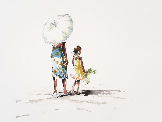 "<span class=""artist""><strong>Julia Cassels</strong></span>, <span class=""title""><em>The White Umbrella</em></span>"