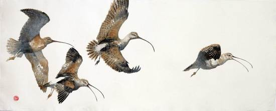 "<span class=""artist""><strong>Karl Martens</strong></span>, <span class=""title""><em>Curlews</em></span>"