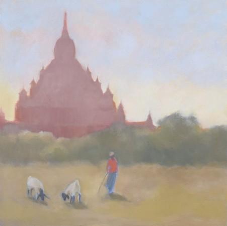 "<span class=""artist""><strong>Clare Granger</strong></span>, <span class=""title""><em>Stupa</em></span>"