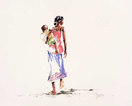"""<span class=""""artist""""><strong>Julia Cassels</strong></span>, <span class=""""title""""><em>Walking Home</em></span>"""