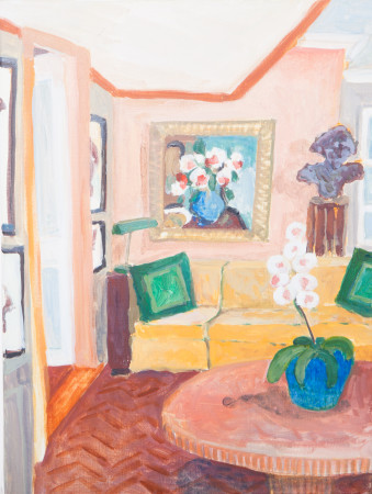 """<span class=""""artist""""><strong>Lottie Cole</strong></span>, <span class=""""title""""><em>Interior with Mathew Smith</em></span>"""