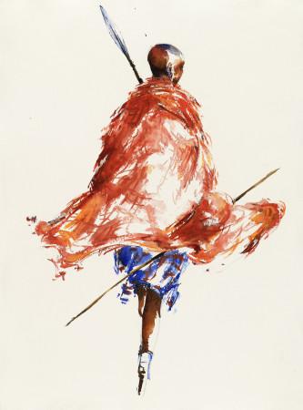 """<span class=""""artist""""><strong>Julia Cassels</strong></span>, <span class=""""title""""><em>Maasai Herdsman</em></span>"""