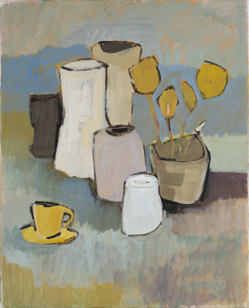 "<span class=""artist""><strong>Bridget Lansley</strong></span>, <span class=""title""><em>Storm in a Teacup</em></span>"