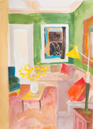 <span class=&#34;artist&#34;><strong>Lottie Cole</strong></span>, <span class=&#34;title&#34;><em>Interior with Robert Motherwell</em></span>