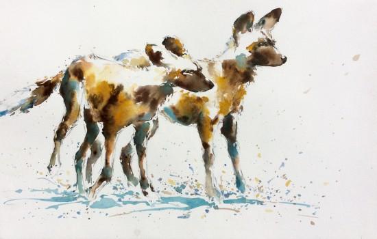 """<span class=""""artist""""><strong>Julia Cassels</strong></span>, <span class=""""title""""><em>Wild Dogs</em></span>"""