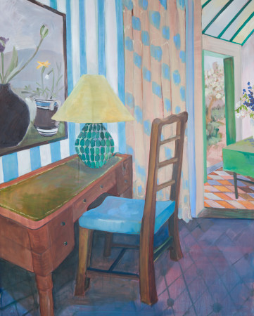 """<span class=""""artist""""><strong>Lottie Cole</strong></span>, <span class=""""title""""><em>Interior with Winifred Nicholson</em></span>"""