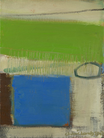 "<span class=""artist""><strong>Chloe Lamb</strong></span>, <span class=""title""><em>Blue and Green II</em></span>"