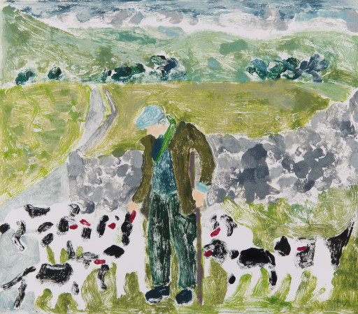 "<span class=""artist""><strong>Dione Verulam</strong></span>, <span class=""title""><em>One Man and his Dogs II</em></span>"