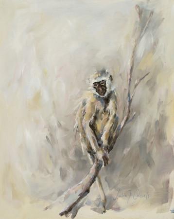 """<span class=""""artist""""><strong>Julia Cassels</strong></span>, <span class=""""title""""><em>Monkey</em></span>"""