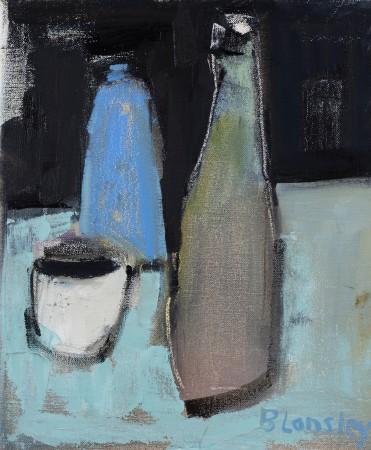 "<span class=""artist""><strong>Bridget Lansley</strong></span>, <span class=""title""><em>Stone Pots</em></span>"