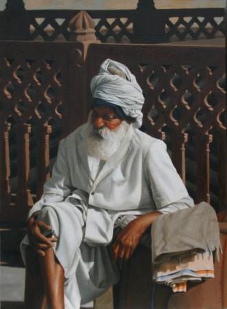 <span class=&#34;artist&#34;><strong>Mark Clark</strong></span>, <span class=&#34;title&#34;><em>Rajasthani Man, Jodhpur</em></span>