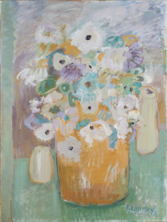 "<span class=""artist""><strong>Bridget Lansley</strong></span>, <span class=""title""><em>Lavender Blue </em></span>"