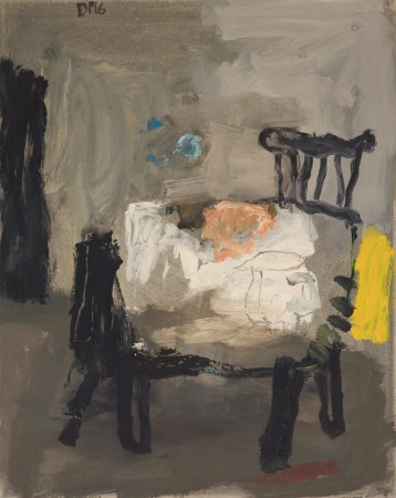 "<span class=""artist""><strong>David Pearce</strong></span>, <span class=""title""><em>Stickback Chairs</em></span>"