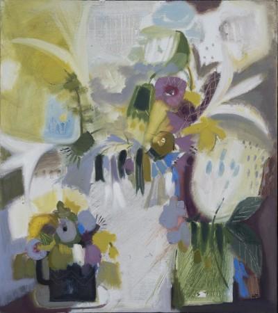 """<span class=""""artist""""><strong>Annabel Fairfax</strong></span>, <span class=""""title""""><em>Garden Flowers</em></span>"""