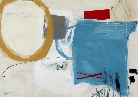 <span class=&#34;artist&#34;><strong>Felice Hodges</strong></span>, <span class=&#34;title&#34;><em>Blue Jug, Golden Orb</em></span>