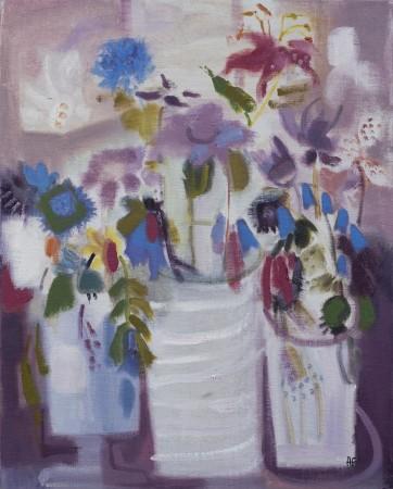 """<span class=""""artist""""><strong>Annabel Fairfax</strong></span>, <span class=""""title""""><em>Harebells</em></span>"""