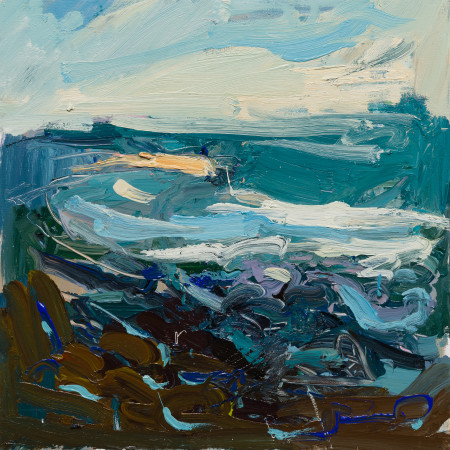 """<span class=""""artist""""><strong>Paul Wadsworth</strong></span>, <span class=""""title""""><em>St Ives Bay</em></span>"""