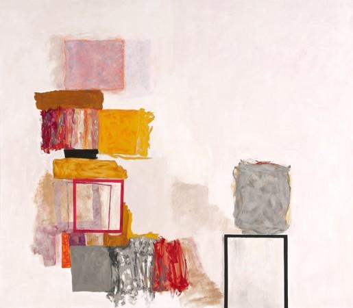 <div class=&#34;artist&#34;><strong>Rocio Rodriguez</strong></div><div class=&#34;title&#34;><em>Bits and Pieces</em>, 2014</div><div class=&#34;medium&#34;>oil on canvas</div><div class=&#34;dimensions&#34;>60 x 68 in</div>