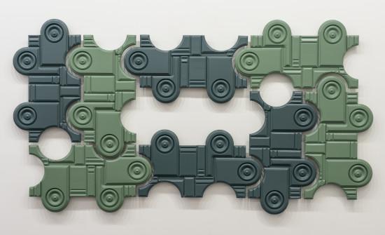 <span class=&#34;artist&#34;><strong>Noah Loesberg</strong></span>, <span class=&#34;title&#34;><em>Rosettes and Plinth Blocks</em>, 2016</span>