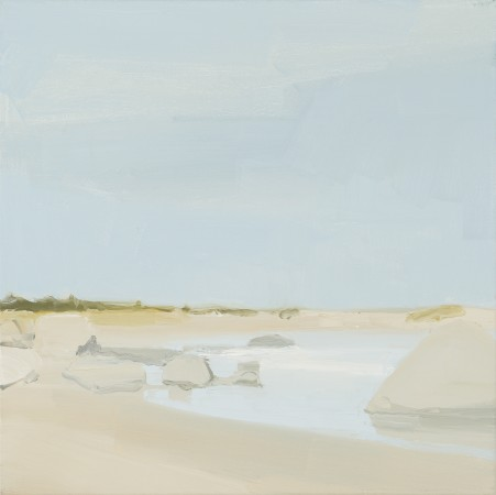 <div class=&#34;artist&#34;><strong>Sara MacCulloch</strong></div><div class=&#34;title&#34;><em>Beach and Rocks</em>, 2014</div><div class=&#34;medium&#34;>oil on canvas</div><div class=&#34;dimensions&#34;>16 x 16 in.</div>