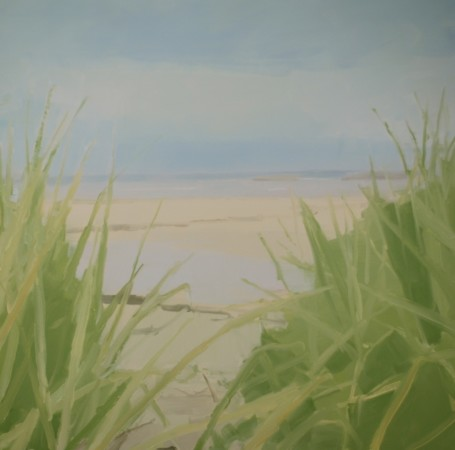 <div class=&#34;artist&#34;><strong>Sara MacCulloch</strong></div><div class=&#34;title&#34;><em>Beach Grass Path</em>, 2014</div><div class=&#34;medium&#34;>oil on canvas</div><div class=&#34;dimensions&#34;>40 x 40 in.</div>