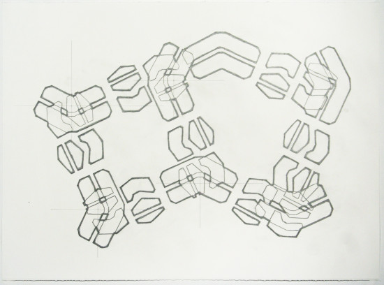 <span class=&#34;artist&#34;><strong>Noah Loesberg</strong></span>, <span class=&#34;title&#34;><em>Tire Tread #6</em>, 2011</span>