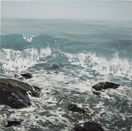 <div class=&#34;artist&#34;><strong>Annie Wildey</strong></div><div class=&#34;title&#34;><em>Rocks n Surf</em>, 2015</div><div class=&#34;medium&#34;>oil on canvas</div><div class=&#34;dimensions&#34;>12 x 12 in.</div><p><span class=&#34;title&#34;>framed $1,150<br /></span></p>