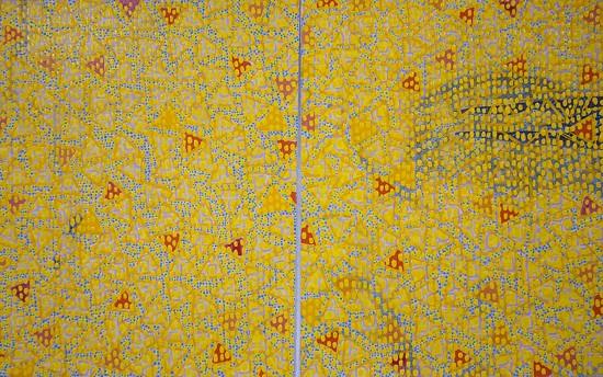 <div class=&#34;artist&#34;><strong>Diane Ayott</strong></div><div class=&#34;title&#34;><em>Winner Loser</em>, 2014</div><div class=&#34;medium&#34;>mixed media on paper</div><div class=&#34;dimensions&#34;>14 1/2 x 23 in<br />framed size 18 1/2 x 27 in.</div>