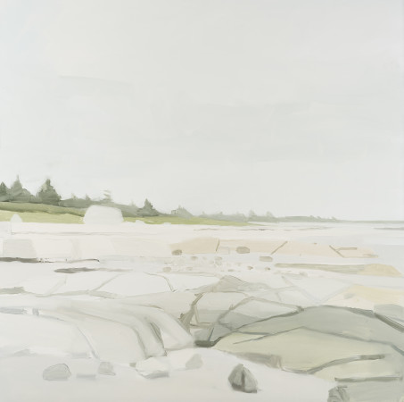<span class=&#34;artist&#34;><strong>Sara MacCulloch</strong></span>, <span class=&#34;title&#34;><em>Beach and Rocks</em>, 2016</span>