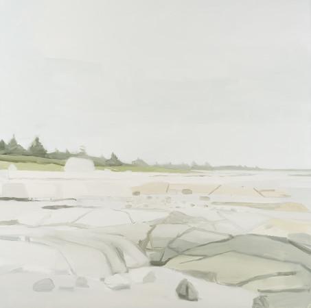 <span class=&#34;artist&#34;><strong>Sara MacCulloch</strong></span>, <span class=&#34;title&#34;><em>Beach and Rocks</em>, 2016</span>